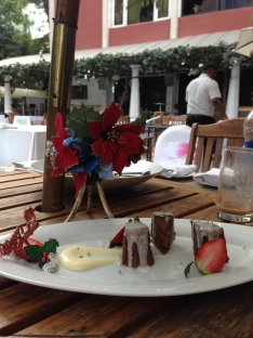 Christmas Pudding, Cafe Mozaic, Taj Vivanta, Bangalore