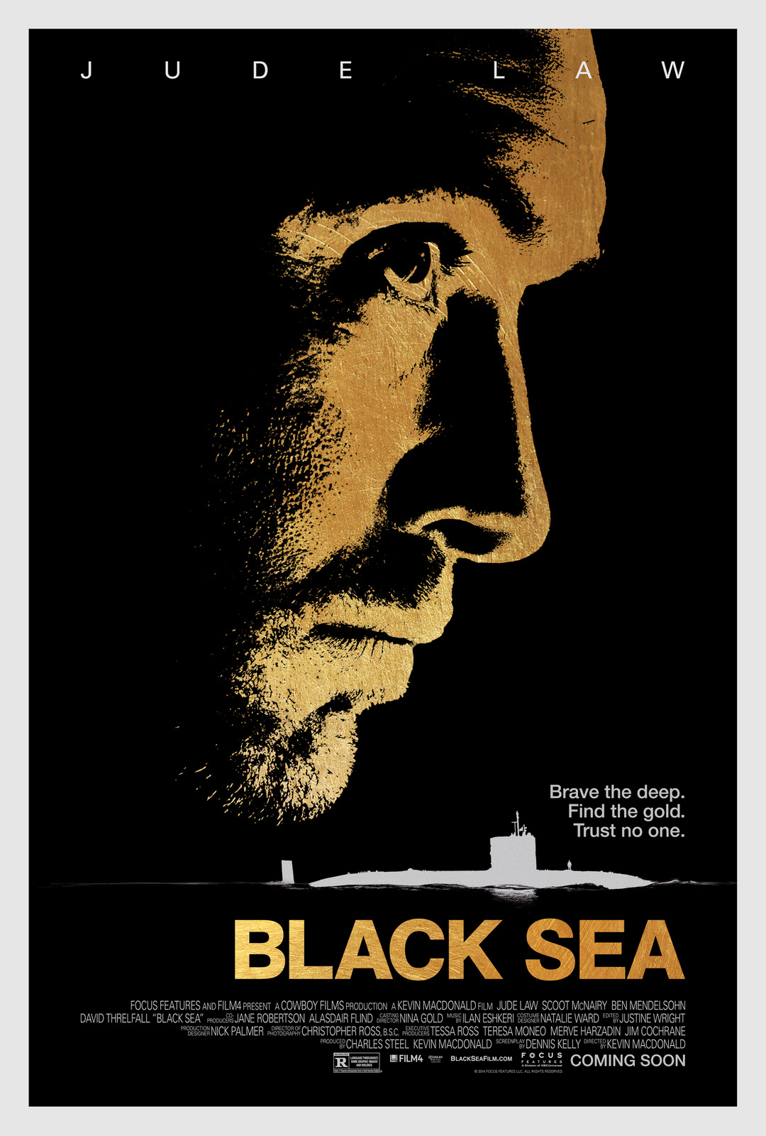 Black Sea directed by Kevin MacDonald. Photo courtesy - Focus Features