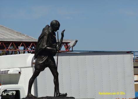 Gandhi in San Francisco's Embarcadero