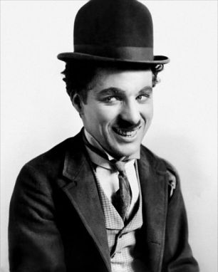 """Charlie Chaplin  in """"The Tramp"""""""