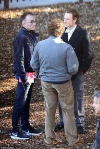 Danny Boyle, Michael Fassbinder and Seth Rogen