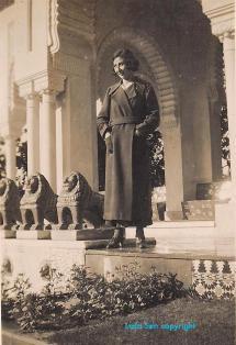 Hedeya Khayat in Cairo 1939