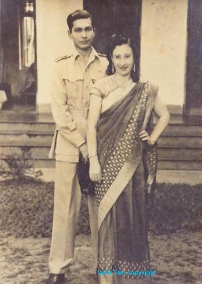 The Dutts, 1944, Calcutta