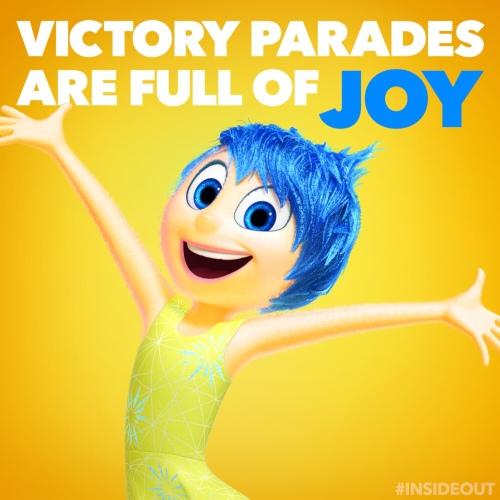 Joy Victory Parade