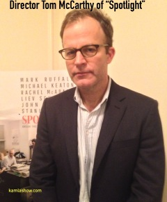 Tom McCarthy Spotlight