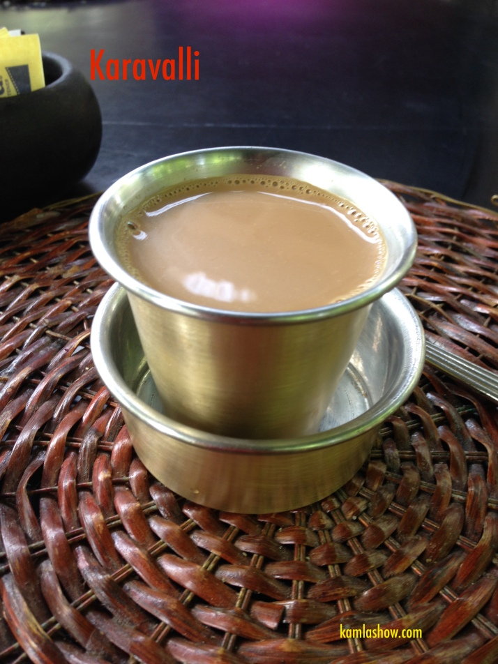 Filter Coffee, Karavalli, Bangalore