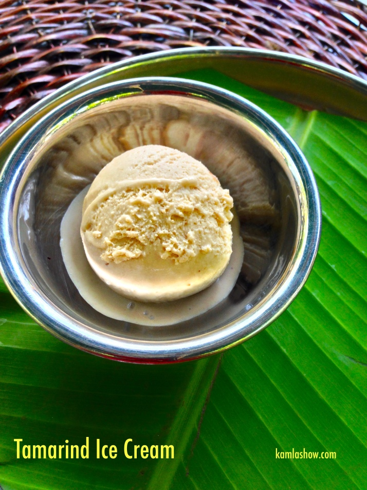 Tamarind Ice Cream, Karavalli, Taj Gateway, Bangalore