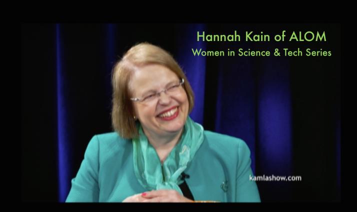 Hannah Kain, President/CEO, ALOM Technologies