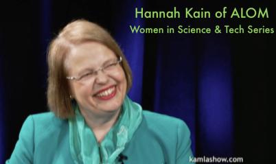 Hannah Kain of ALOM