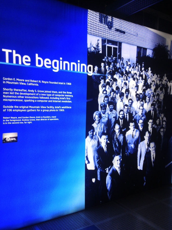 Intel in the beginning
