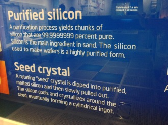 Intel-Purified Silicon