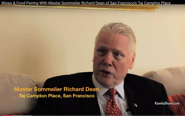 Master Sommelier Richard Dean of Taj Campton Place