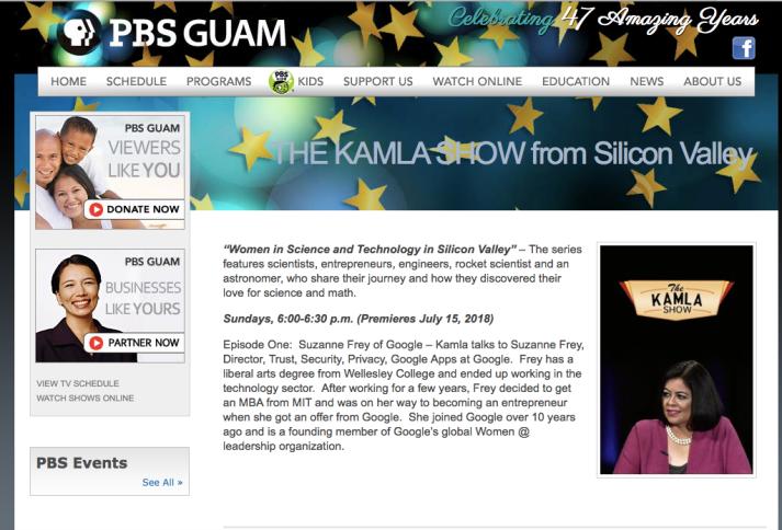 Guam PBS The Kamla Show