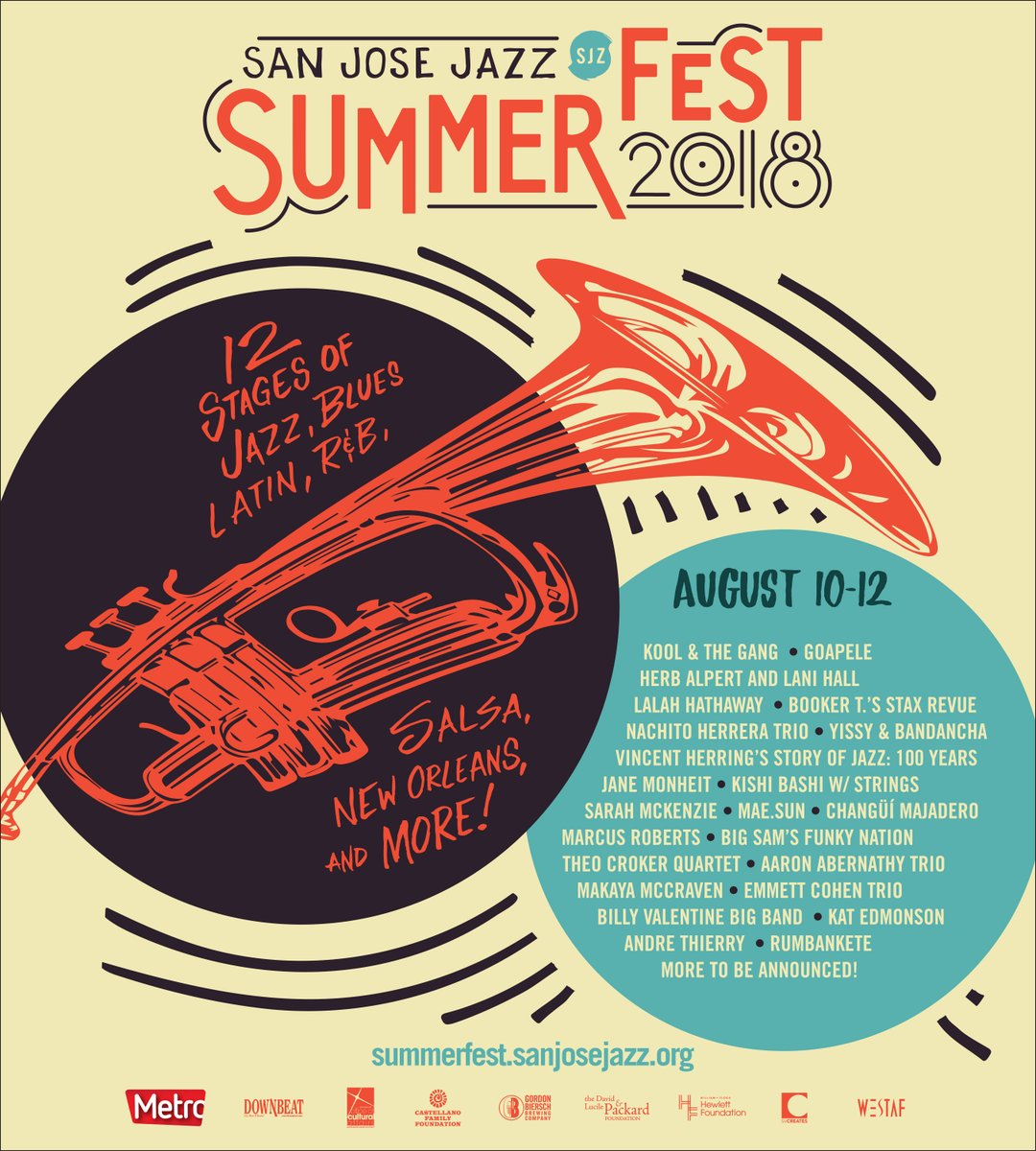 San Jose Jazz Summer Fest 2018