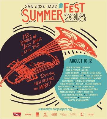 San Jose Jazz Summer Fest 2018
