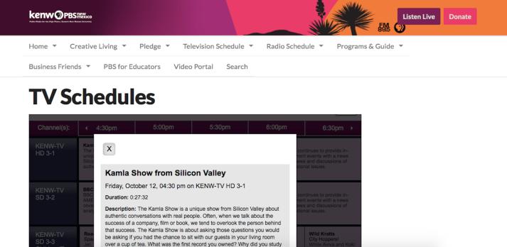 KamlaShow-KENW-PBS-NewMexico