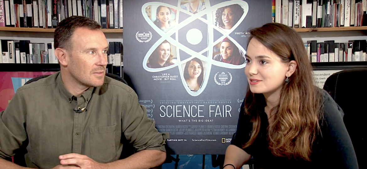 SCIENCE FAIR FILMMAKERS CRISTINA CONSTANTINI & DARREN FOSTER