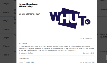 The Kamla Show on WHUT TV
