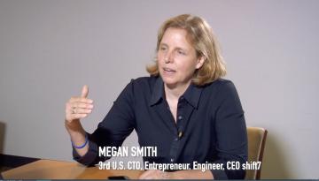 Megan Smith, CEO shift7