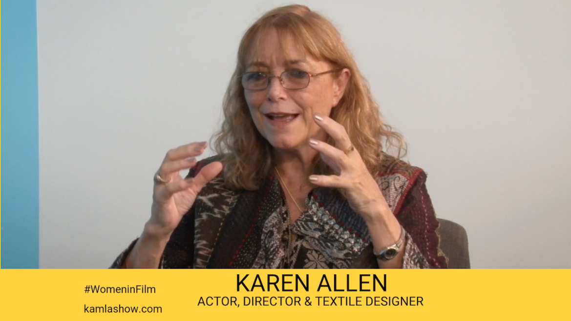 Kamla Show - Karen Allen Interview