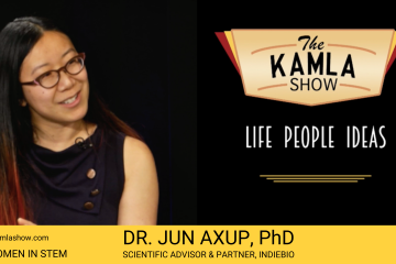 The Kamla Show - Women in STEM TV Series Dr. Jun Axup